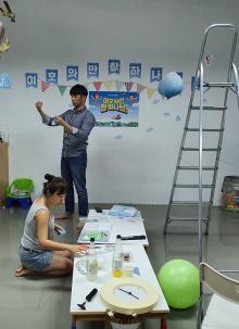 어린이캠프 환경미화