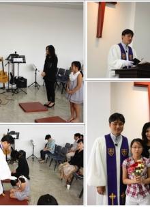 2015. 2. 22 - 세례예식