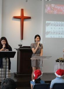 성탄예배 및 세례예식
