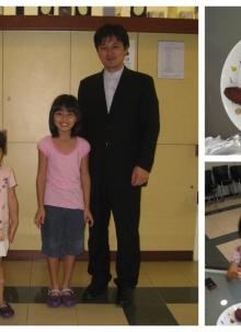 문성보 목사 가정의 첫 예배