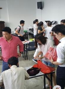 찬양팀 악기 구입을 위한 작은 바자회(2016. 5. 15)