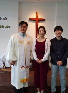 진혜주 자매님의 수세를 축하합니다.
