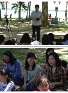Pasir Ris Park에서 야외예배(2010.12.5)