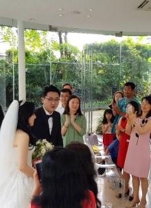 박경민 형제, 장수정 자매 결혼(6. 16)