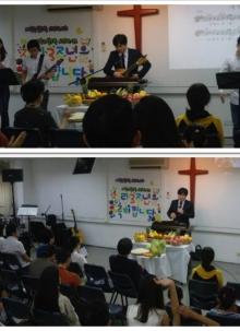 2012. 11. 19 추수감사 및 창립 3주년 감사주일예배