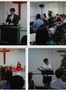 2012 성탄예배 및 세례예식